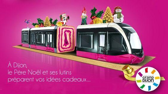 Pour Noël, le Grand Dijon lance une campagne publicitaire dans l'Est de la France