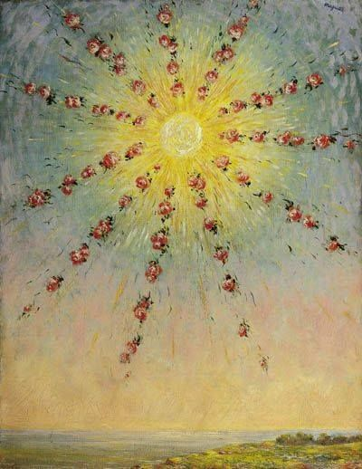 colin-vian:   René Magritte - La via maestra, 1944