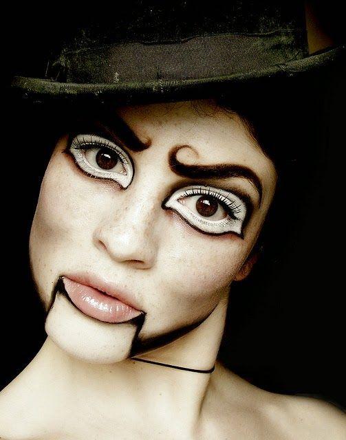 30 ideas fáciles de maquillaje de Halloween para mujer Divertido