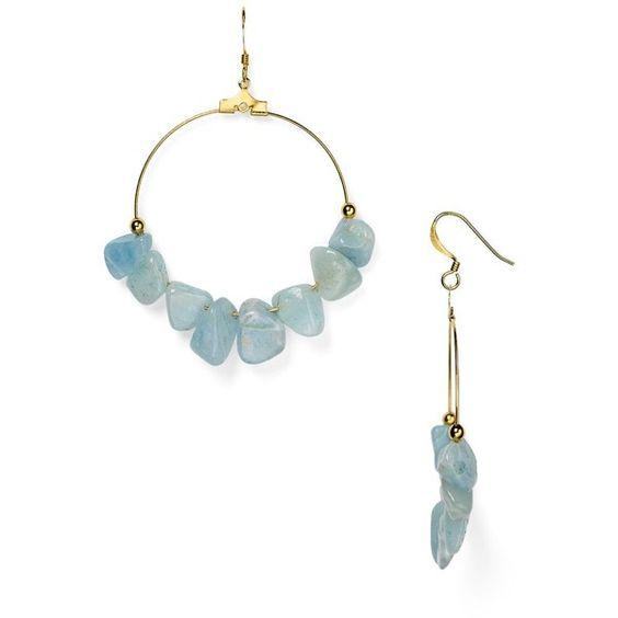 Kenneth Jay Lane Drop Earrings (2,150 DOP) ❤ liked on Polyvore featuring jewelry, earrings, blue, blue earrings, kenneth jay lane, blue drop earrings, blue jewelry and drop earrings