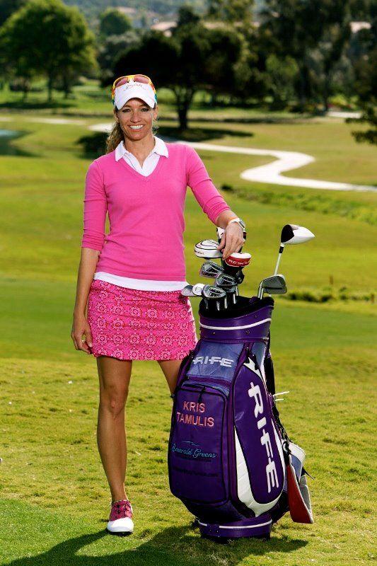Check Out Lpga Player Kris Tamulis Wearing Golftini On The