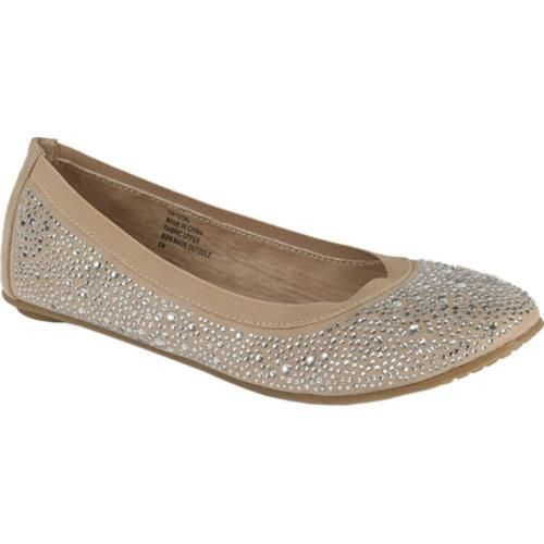 This rounded to foldable ballet flat is sparkling with an array of crystals covering the entire surface. Stylish, super comfortable with a padded insole, it's great for work, play, shopping and travel. It also makes a perfect gift.