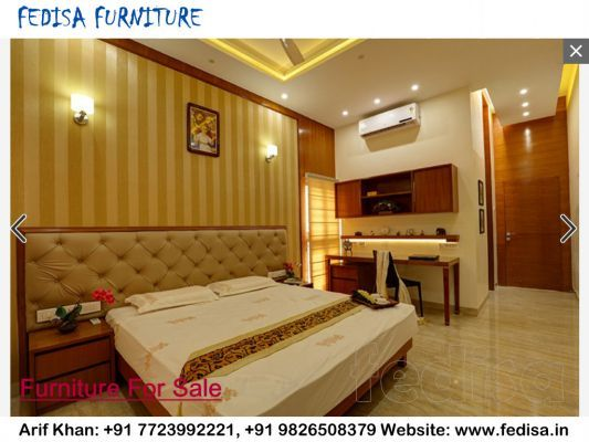 Small Bedroom Interiors Indian Style Fedisa Small Bedroom Interior Interior Design Bedroom Bedroom Interior