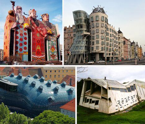 Architecture Buildings Around The World weird up! 15 bizarre buildings around the world - web urbanist
