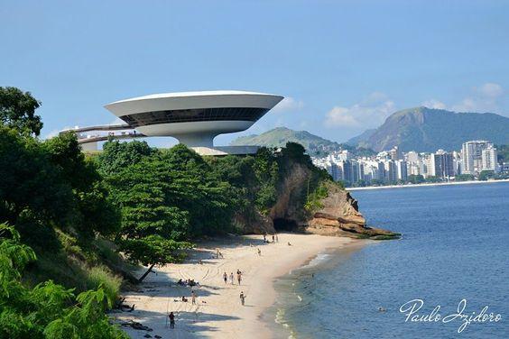 Rio de Janeiro - Museu de Arte Contemporânea de Niterói - Brasil. Foto de Paulo Izidoro