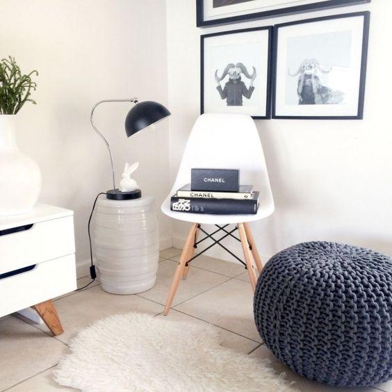 Eames design and tricot et crochet on pinterest for Salon tricot