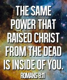 """""""The True Measure of a person's POWER, is the Measure of their SURRENDER to GOD."""" ~Romans8:11"""