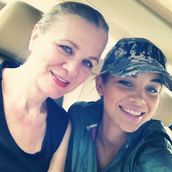 Jasmine Sanders and her mother Ursula Sanders