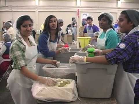 Million Meals for Haiti - documentary of The Salvation Army of San Francisco volunteers packing 1,000,000 meals in one day!