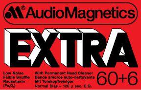 AUDIO MAGNETICS EXTRA C60+6