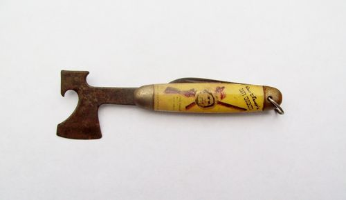 Vintage 1950's Imperial Walt Disney's Davy Crockett Hatchet End Pocket Knife USA | eBay