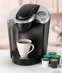 I push some buttons and there's coffee and oatmeal and Easy Mac and sweet tea. It's like a manna machine!: