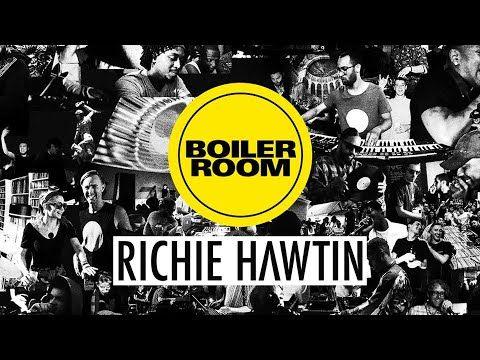 Richie Hawtin Boiler Room 2018 Music Artists Comic Book Cover New Media