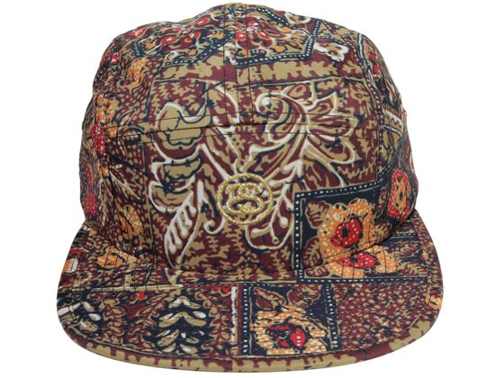 Indo 5-Panel Hat by STUSSY