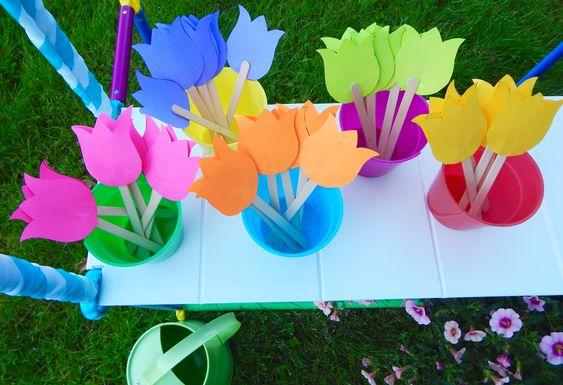 tulipán készítés