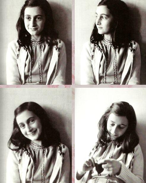 dit is Anne-Frank ze is in de 2de wereldoorlog ondergedoken. er is een dagboek van haar gevonden waar ze alles over haar leven heeft inschreven. ze is net verraden voor dat de oorlog was afgelopen en is ze vermoord.
