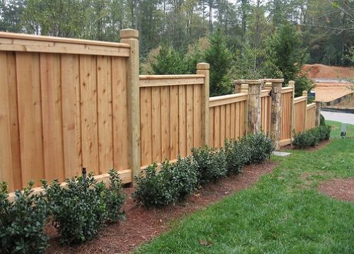 11 Models Of Simple Minimalist Fence Design Backyard Fences