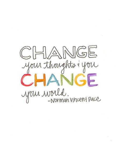 Change creates change.