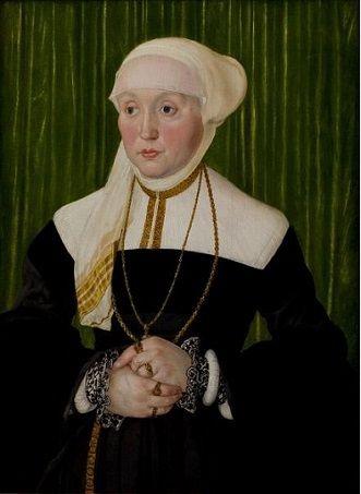 A Lady, ca. 1540-1541 (Hans Mielich) (1516-1573) St. Louis Art Museum, 39.2006: