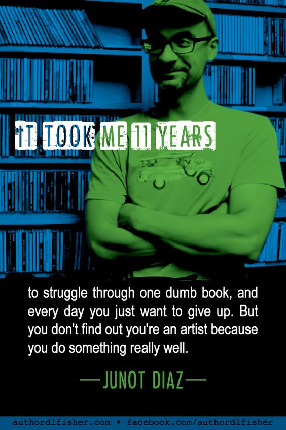 Junot Diaz's only novel (so far) won him a Pulitzer Prize, Salon Book Award, National Book Critic's Circle Award, Center for Fiction First Novel Prize, Dayton Literary Peace Prize, Ansfield-Wolf Book Award, and International IMPAC Dublin Literary Award, among other honors. #WritingInspiration #pulitzer #writing #author_quote #motivational