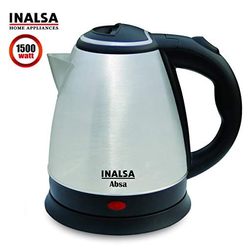 Https Amzn To 33jni9vinalsa Electric Kettle Absa 1500w With 1 5 Litre Capacity Https Www Amazon In Dp B07qdsn9v6 Ref Electric Kettle Kettle Electricity