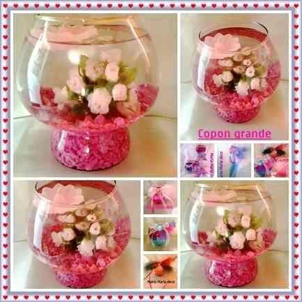 Arreglo de flores artificiales para centro de mesa - Como hacer centro de flores artificiales ...