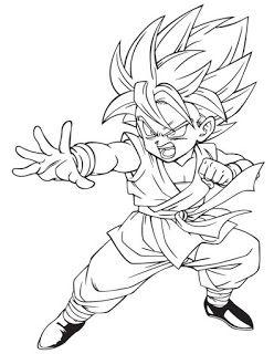 Disegni Da Colorare E Stampare Di Dragon Ball.Dragon Ball 70 Disegni Da Stampare E Colorare Tantilink