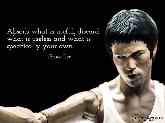 Bruce Lee-UnofficialYOLO-Inspiring Quote