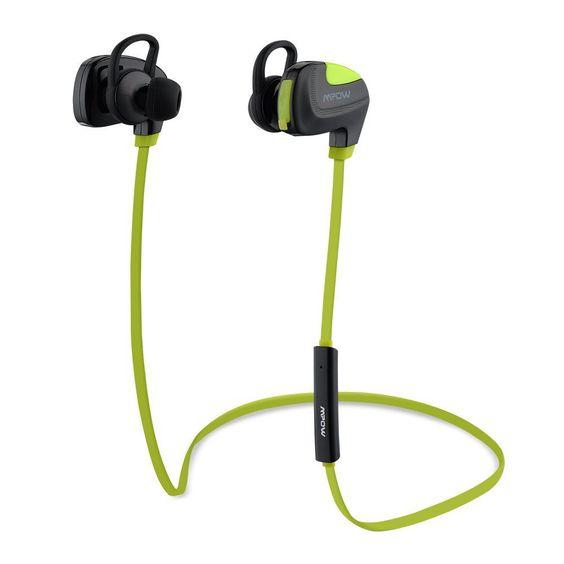 Mpow Seashell Bluetooth 4.1 Sports Headphones for $12.99