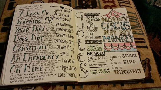 Journal project - quotes