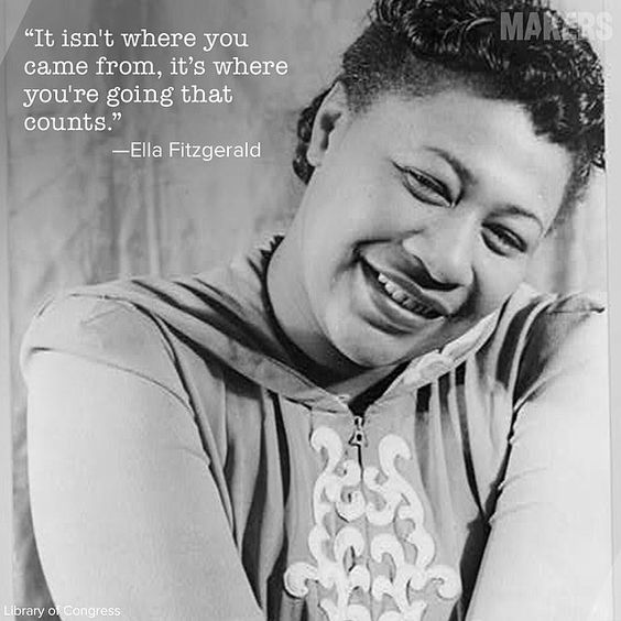 Born on this day 1917, the Queen of Jazz, Ella Fitzgerald. #OnThisDay #jazz #queenofjazz #ladyofsong #music #ellafitzgerald