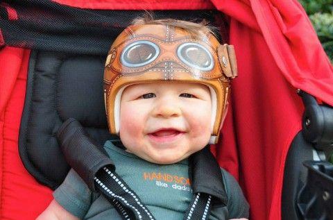 paula strawn - la artista que ilustra en los cascos de los bebés