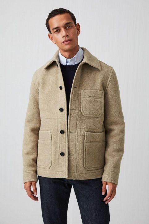 Wool Workwear Jacket | Mens winter fashion outfits, Winter outfits men, Mens  outfits