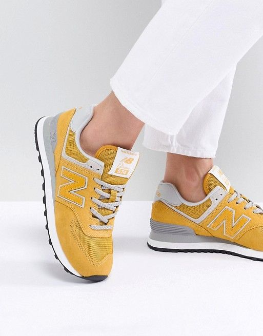new balance 520 jaune femme
