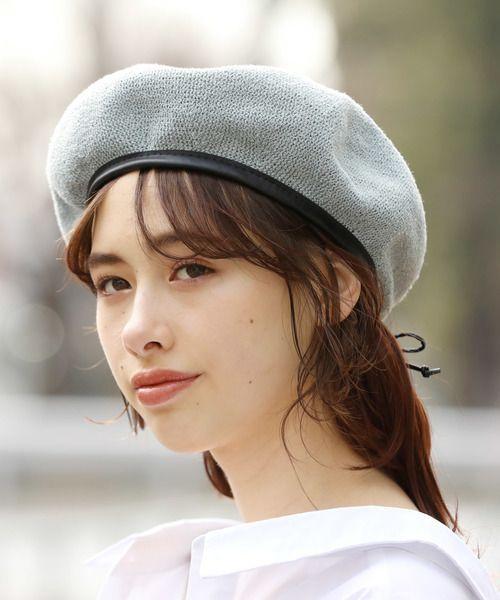 ベレー帽の素敵なかぶり方は 春の大人おしゃれなベレー帽コーデ50選