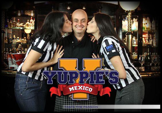 """Es sencillo... SIMPLEMENTE TE QUEREMOS! Actitud #Yuppies HOY INAGURACION 23,24 y 25 de Agosto 2012 Yuppie's """"Taste the Passion""""   México City"""
