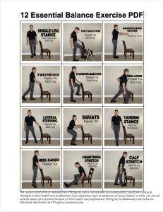 12 Balance Exercises For Seniors Cardio Workout At Homefitness Inspiration Meaghan Blog In 2020 Balance Exercises Senior Fitness Exercise