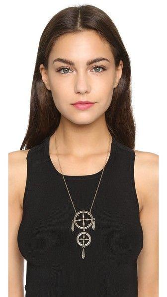 Pamela Love Sueno Pendant Necklace