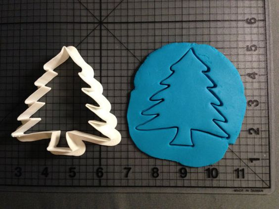 Christmas Tree Cookie Cutter by JBCookieCutters on Etsy, $550