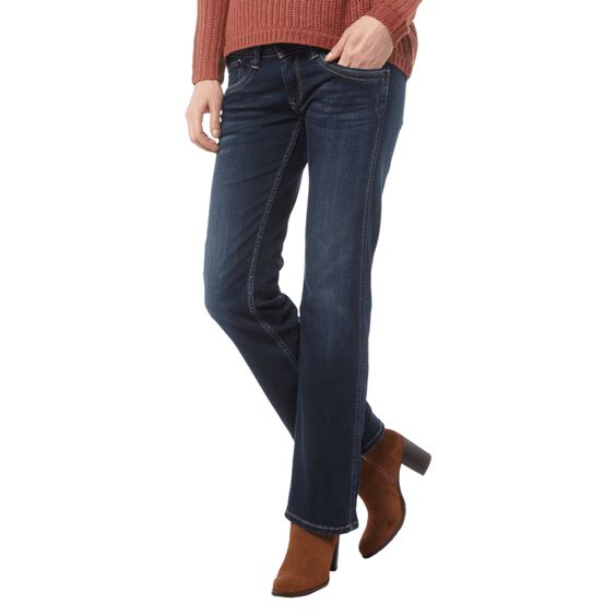 | #Pepe #Jeans #Damen #Comfort #Fit #Jeans im #Stone #Washed-Look