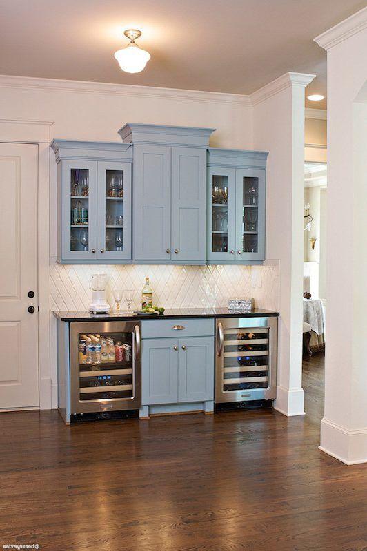 Beverage Center Ideas Home Bar Craftsman With Wine Cooler