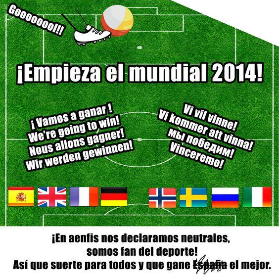 :) #Mundial2014 #MundialBrasil2014