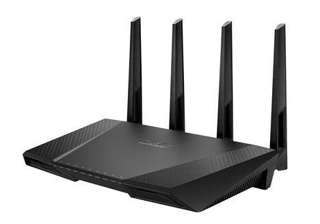Katanya sih ini Router tercepat saat ini. ASUS RT-AC87, world's fastest WiFi router | OTAKKU