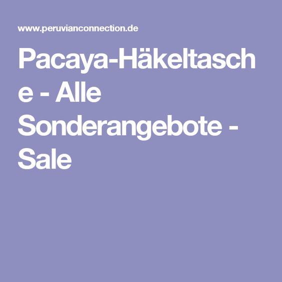 Pacaya-Häkeltasche - Alle Sonderangebote - Sale