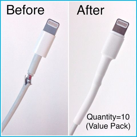 VALUE PACK-Lightning USB Cable Repair Kit - 10 Repair Tubes -available FREE Shipping!