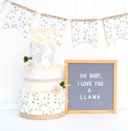 Baby shower themes neutral love diaper cakes 70 Best Ideas #babyshower #baby