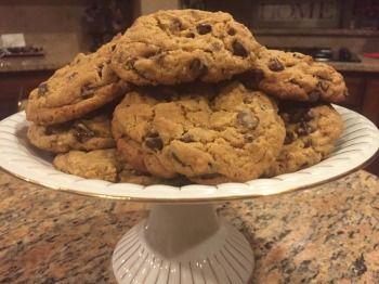 Reverse almond chocolate chunk cookie recipe