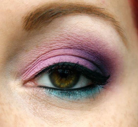 JudeMakeup: http://www.judemakeup.com/2013/10/look-lilac-et-turquoise.html