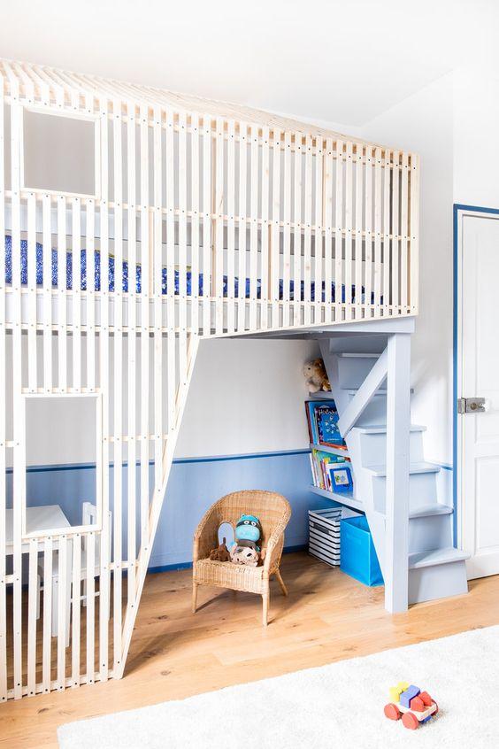 Chambre d'enfant : dormir dans un lit-cabane