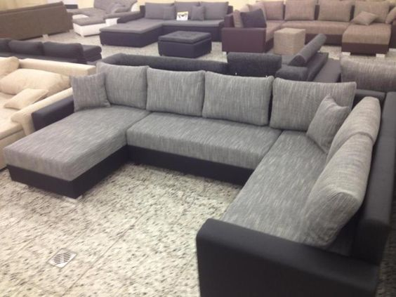 Big Sofa COuch Wohnlandschaft megasofa ottomane Li FINANZIERUNG - big sofa oder wohnlandschaft
